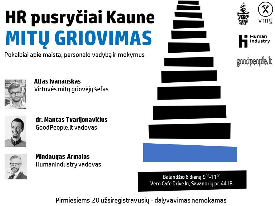 HR pusryčiai Kaune