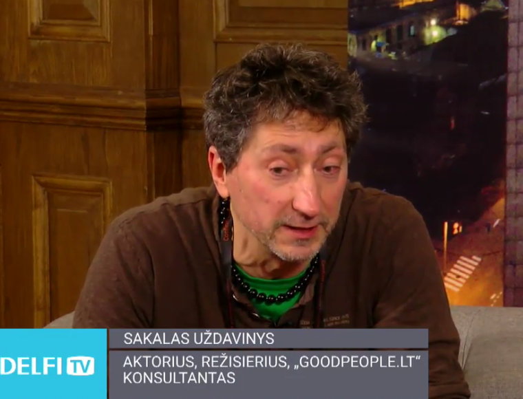 DelfiTV: interviu su S.Uždaviniu